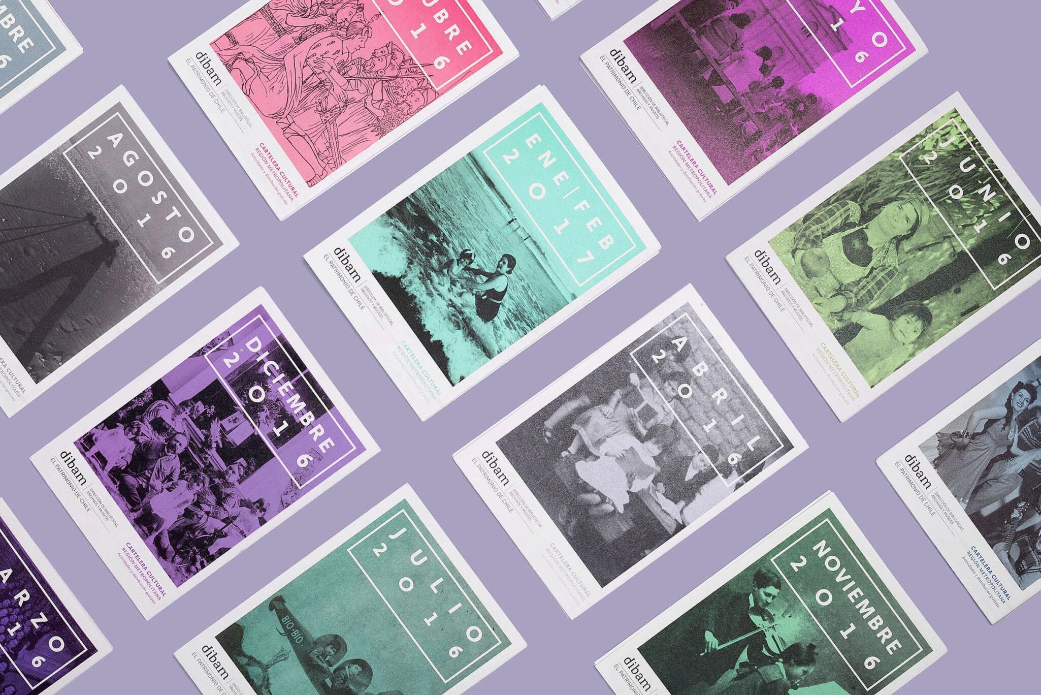Cartelera Cultural Dibam — Brochure