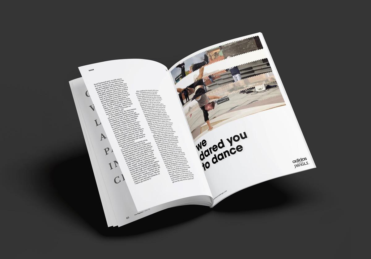 Adidas + Jungle campaign — Proyecto