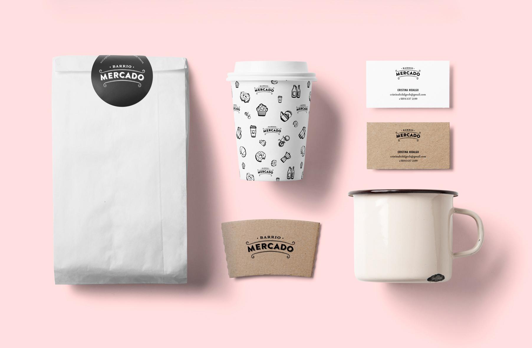 Barrio Mercado — Branding